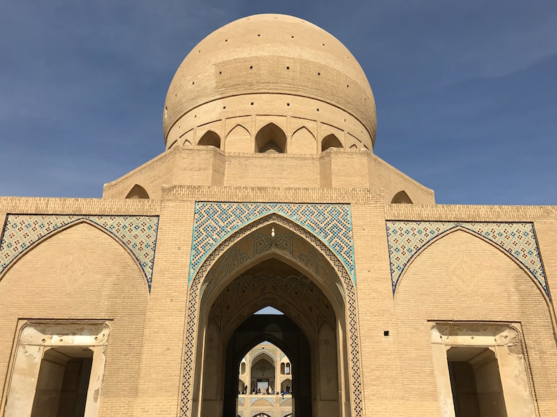 Agha Bozorg Moschee Kashan Iran