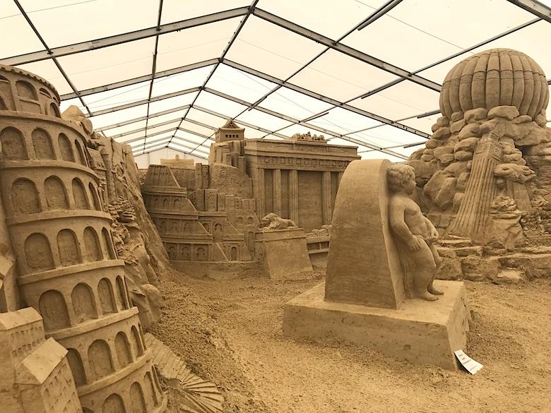 Sandskulpturen-Festival Rügen