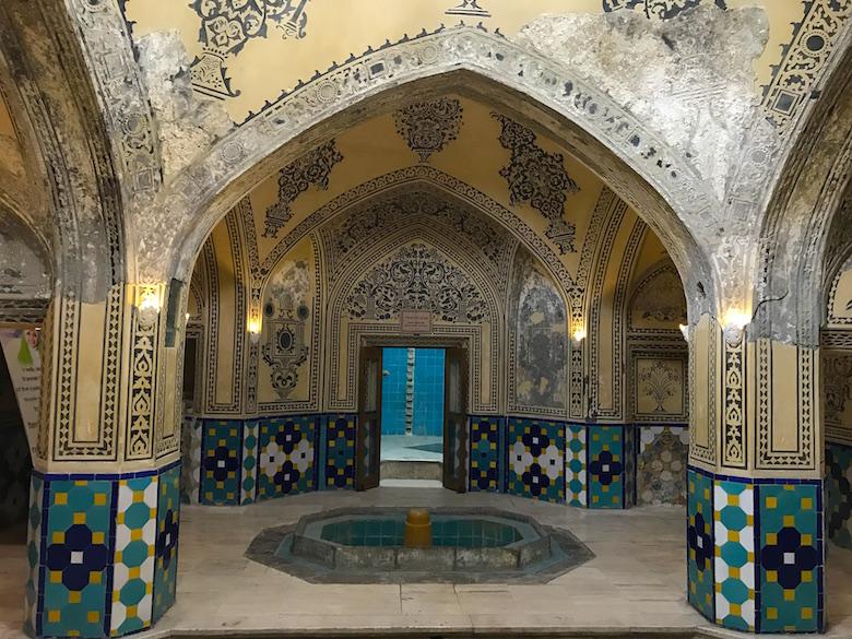 Sultan Amir Ahmad Badehaus Kashan Iran