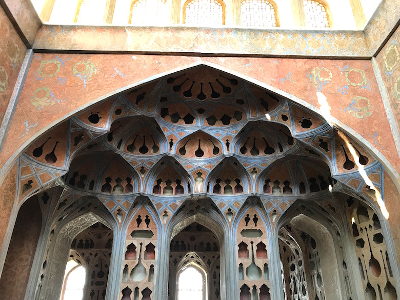 Ali Qapu Palast Isfahan Iran