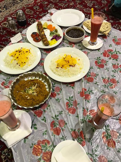 Essen Iran Gruende