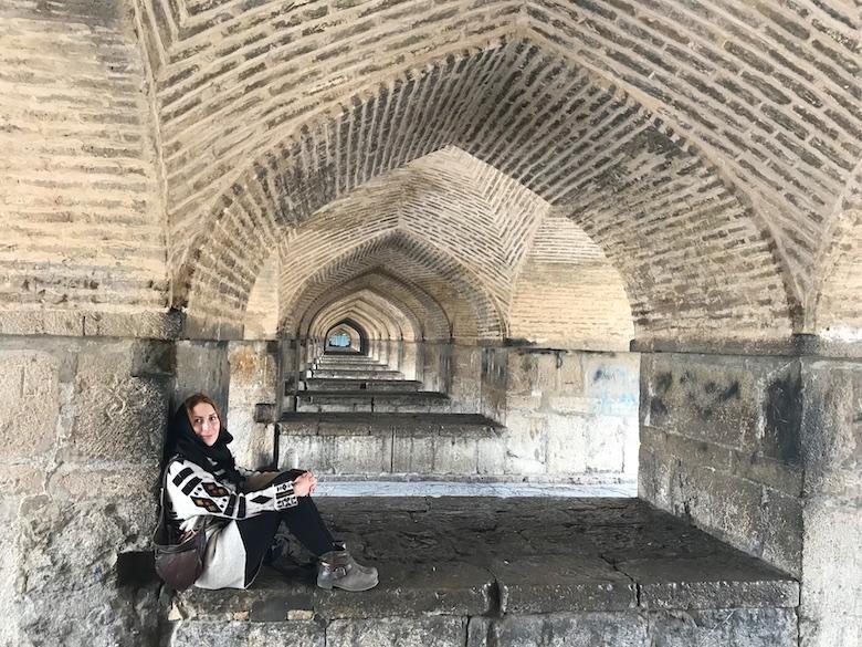 Khaju Brücke Isfahan Iran