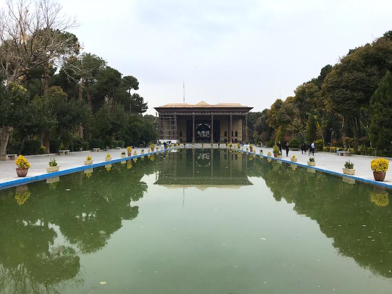 Tschehel Sotun Palast Isfahan Iran