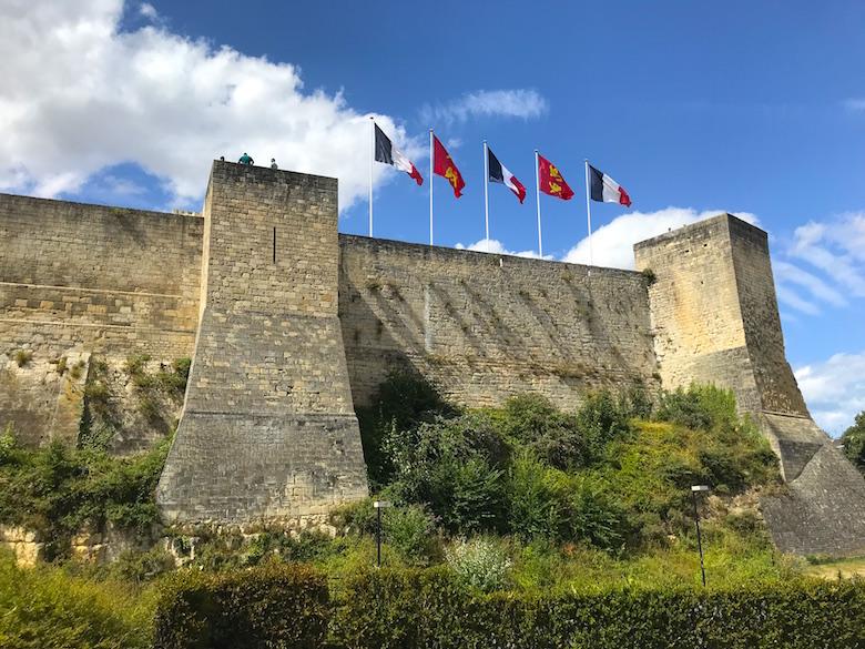 Burg in Caen Normandie