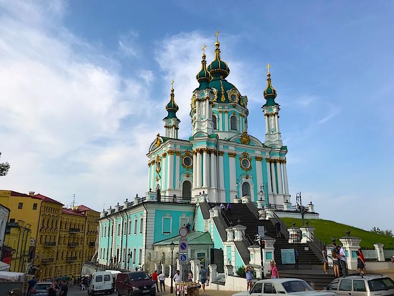 St Andreaskirche Kiew
