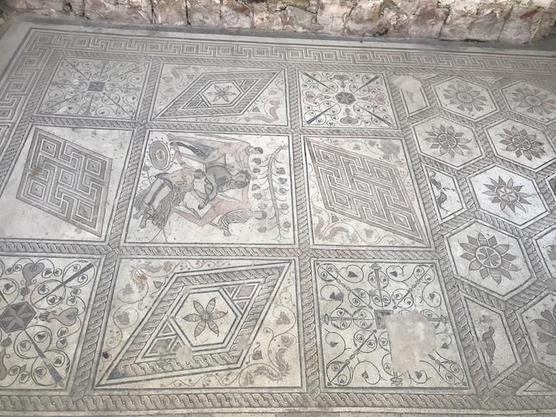 Mosaik der Bestrafung Dirkes