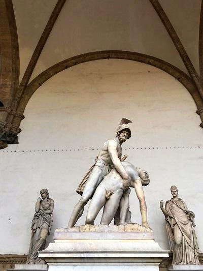Floggia dei Lanzi Florenz Ein Tag