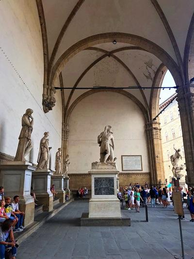 Loggia dei Lanzi Florenz Ein Tag