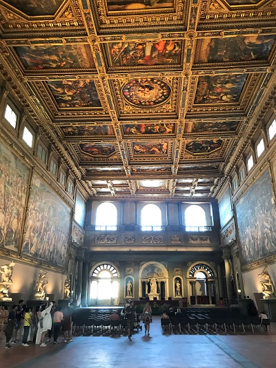 Saal der Fünfhundert Florenz