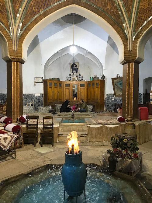 Kaschan Hammam-e Khan Teehaus