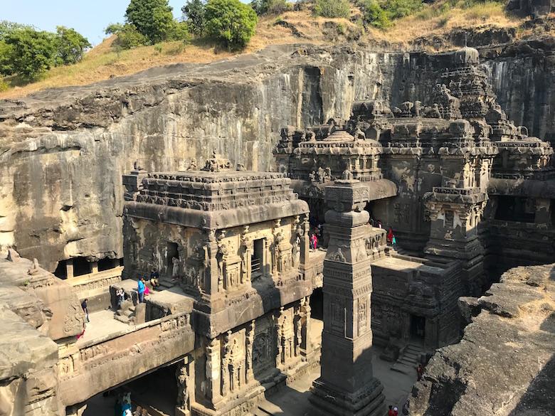 Ellora Höhlen Indien