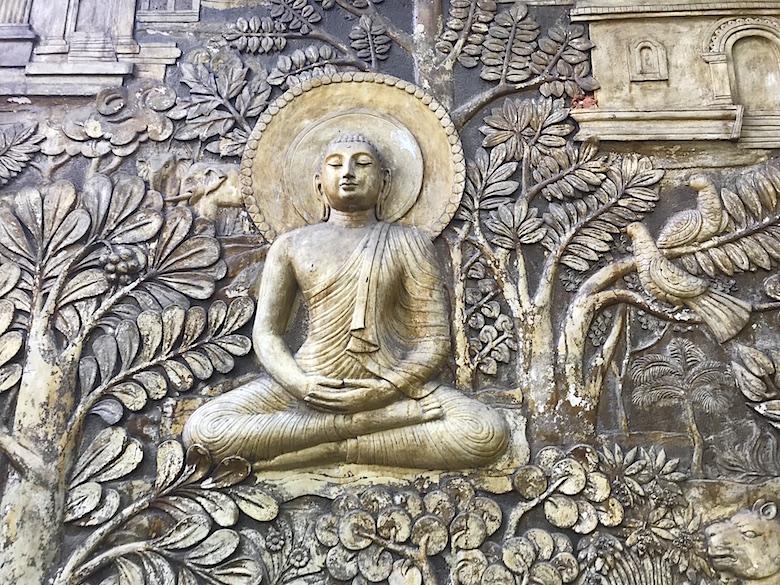 Gangaramaya Tempel Sri Lanka