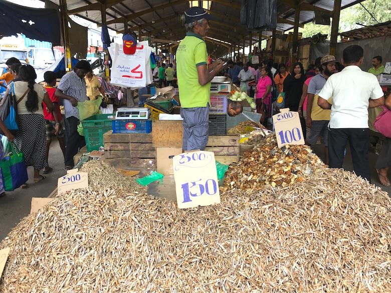 Pettah Markt Colombo Sri Lanka