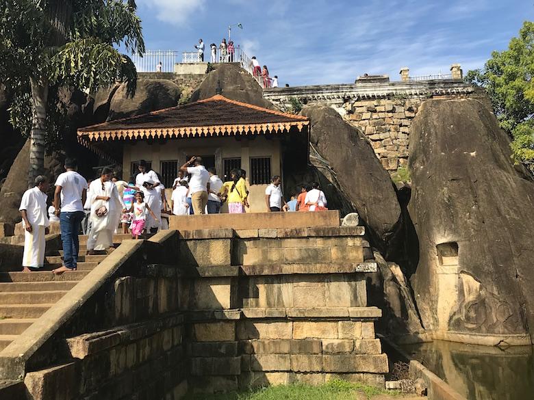 Isurumuniya Tempel Anuradhapura Sri Lanka