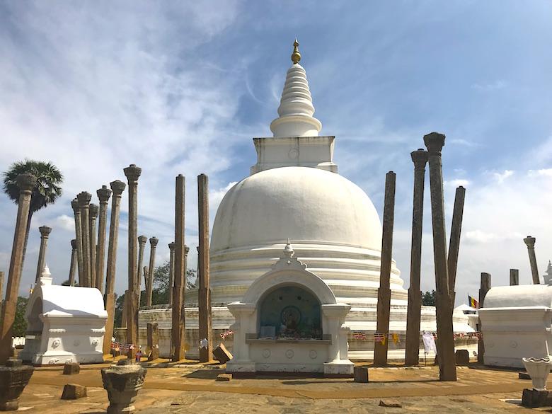 Thuparama Dagoba Anuradhapura Sri Lanka