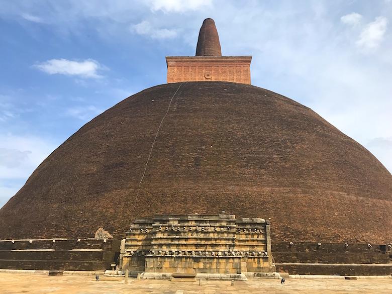 Abhayagiri Dagoba Anuradhapura Sri Lanka