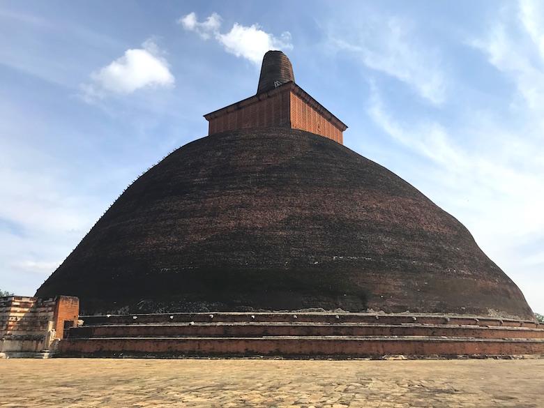 Jetavanrama Dagoba Anuradhapura Sri Lanka