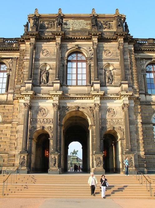 Zwinger Ein tag Dresden