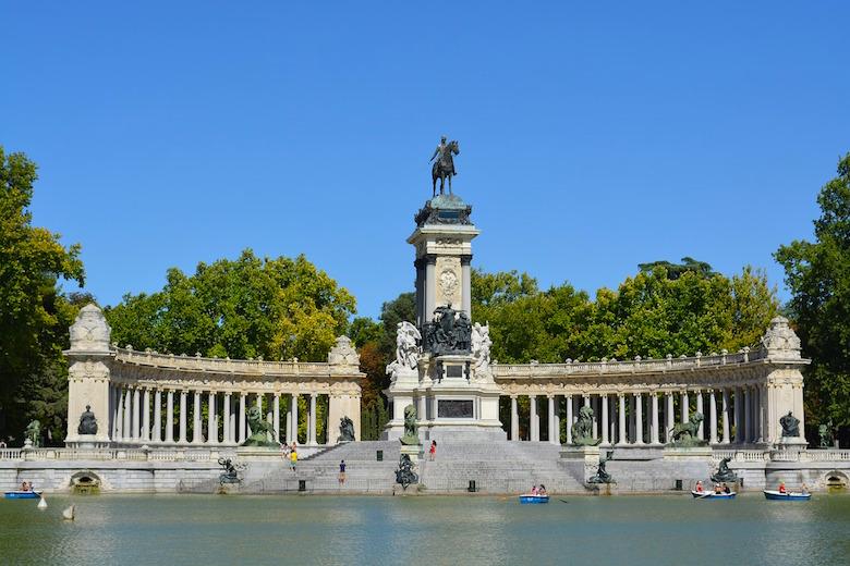 Parque del Buen Retiro Madrid