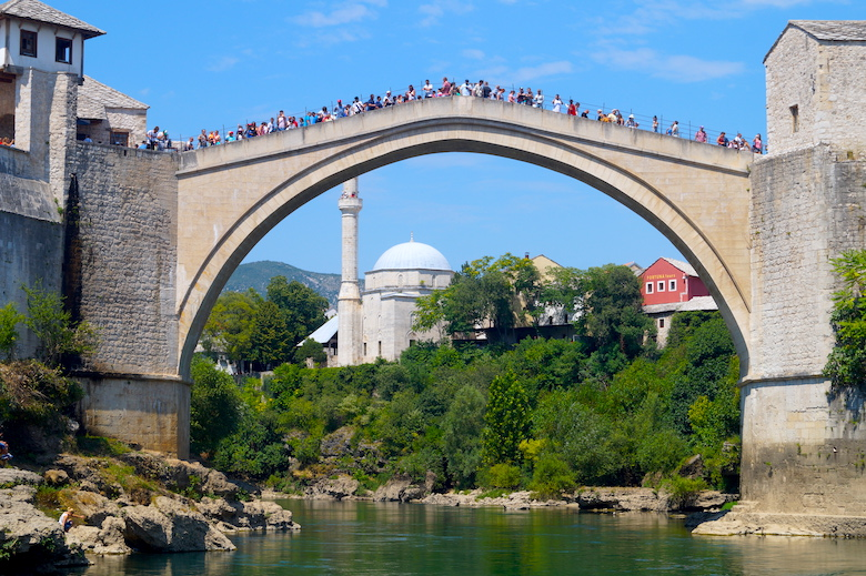Stari Most Brücke Mostar Stadtrundgang ein Tag