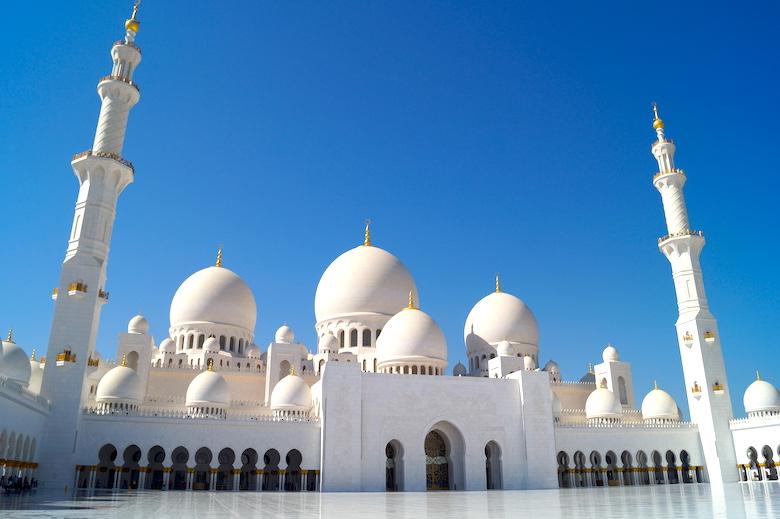 Scheich-Zayid-Moschee Ein Tag Abu Dhabi Stadtrundgang