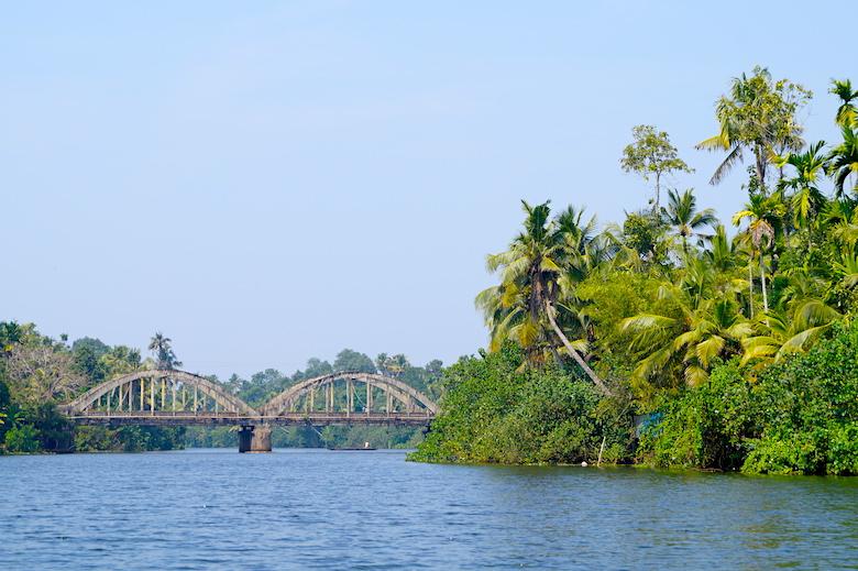 Kerala Backwaters Indien Mehrere Tage Kochi