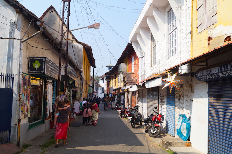 Jew Town Kochi Kerala Drei Tage Kochi