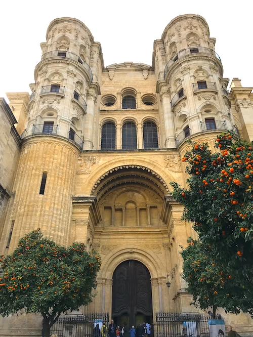 Kathedrale von Malaga Ein Tag Stadtrundgang