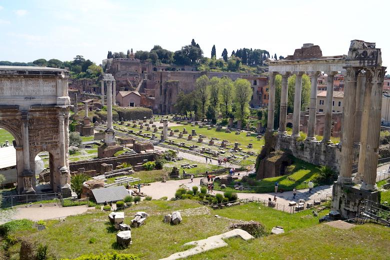 Forum Romanum Top 10 Sehenswürdigkeiten in Rom