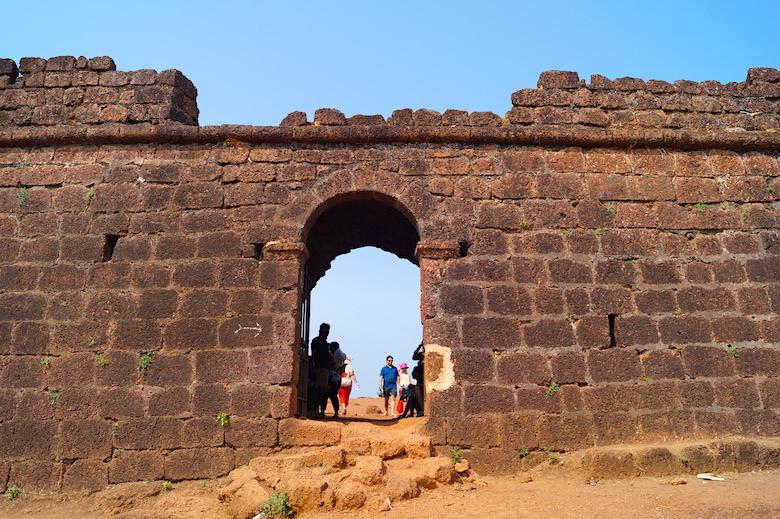 Chapora Fort Anjuna Goa