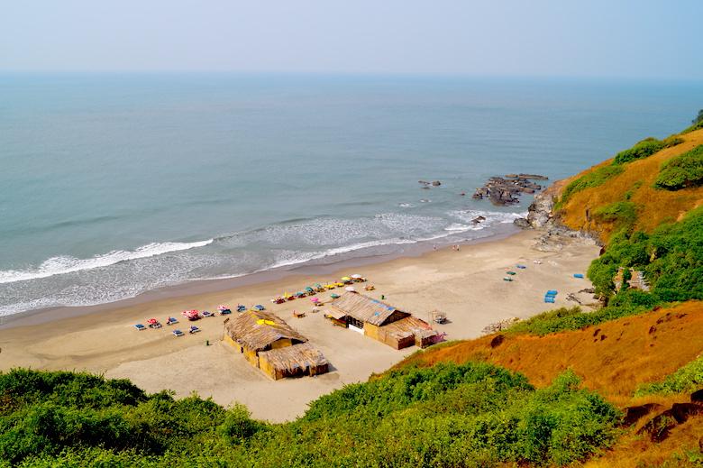 Vagator Beach Anjuna Goa