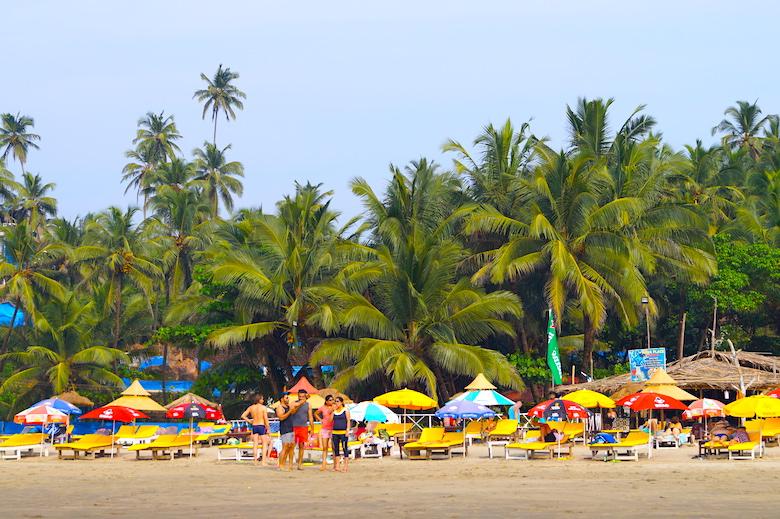 Ozran Beach Anjuna Goa