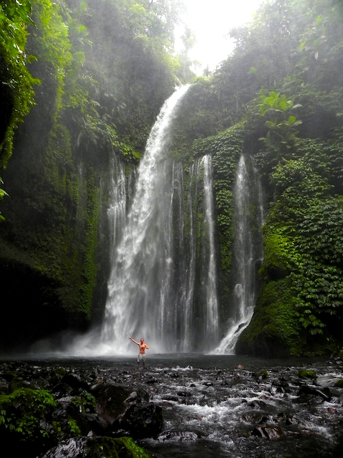 Tiu Kelep Waterfall Lombok Best Places to Visit