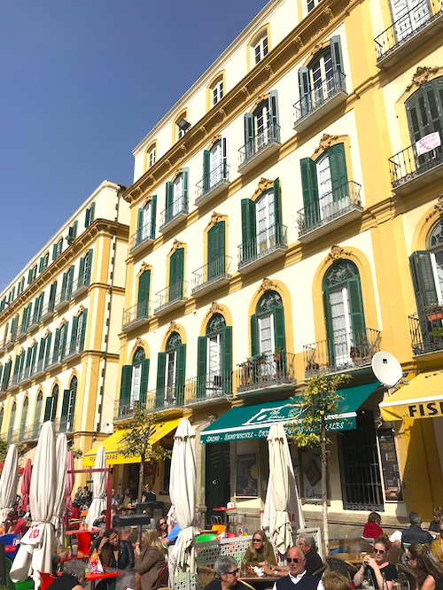 Plaza de la Merced Malaga One Day Itinerary