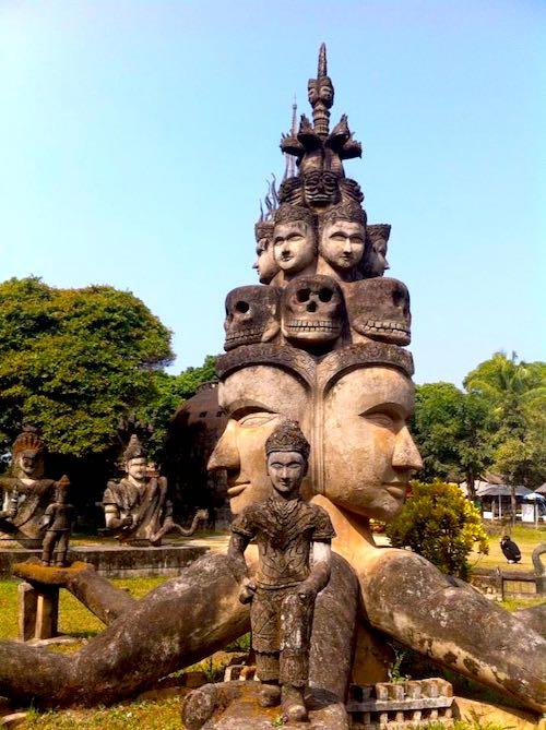 Buddha Park Vientiane Sehenswürdigkeiten