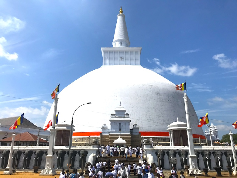 Anuradhapura 3 Wochen Sri Lanka Rundreise Highlights