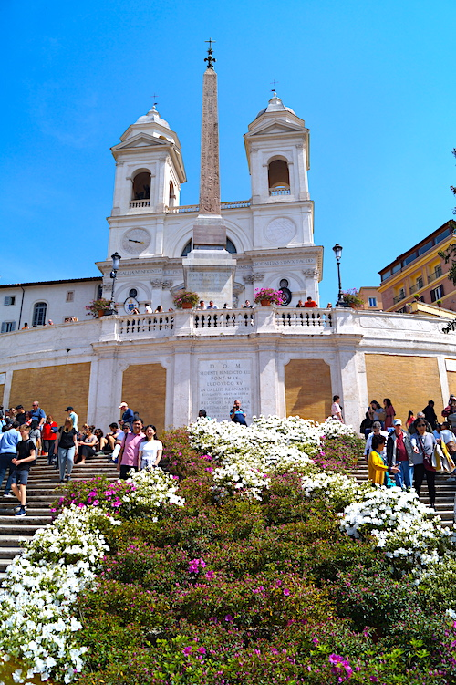 Spanish Steps Top 10 things to see in Rome