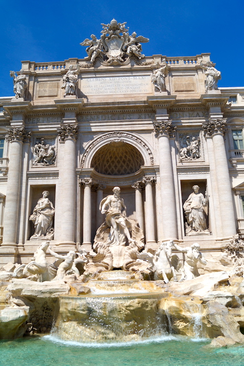 Trevi Fountain Top 10 things to see in Rome