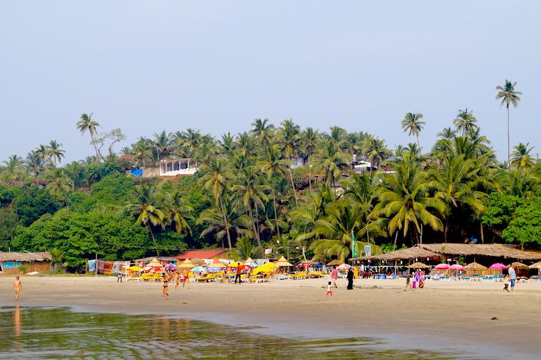 Ozran Beach Best Places to Visit Anjuna Goa