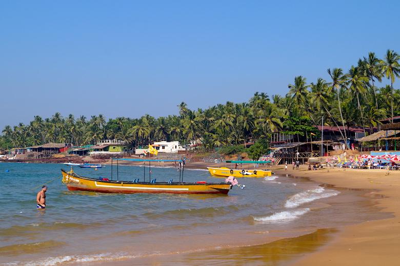 Anjuna Beach Best Places to Visit Anjuna Goa