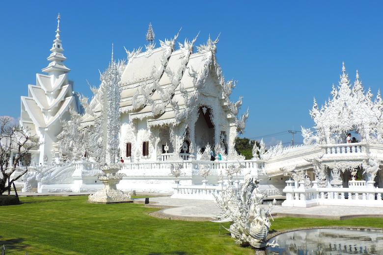 Wat Rong Khun 1 Monat Thailand Meine Highlights