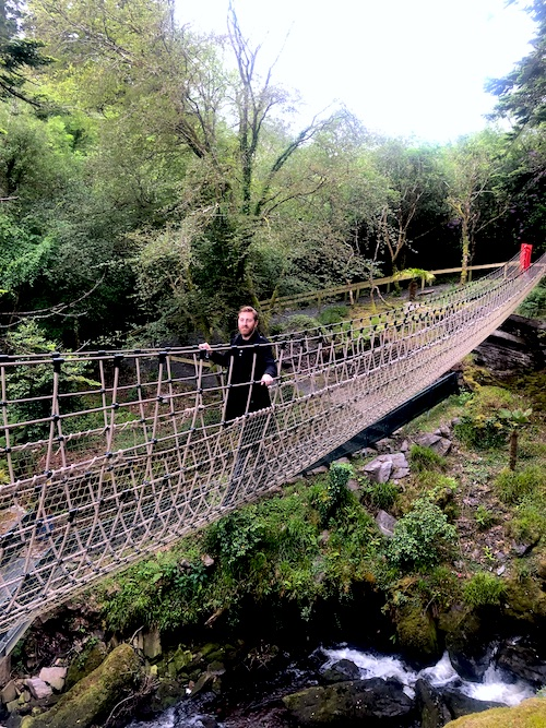 Rope Bridge Kells Bay Gardens Ring of Kerry Top things to see