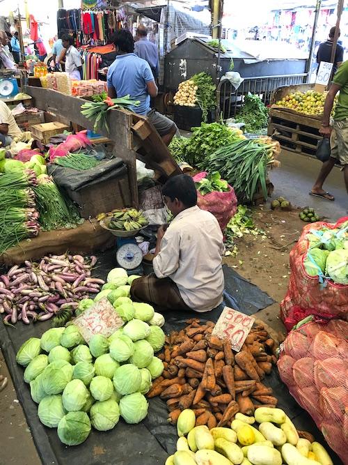 1 Tag Colombo Stadtrundgang Pettah Market