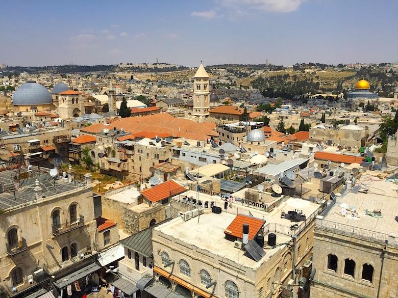 1 Tag in Jerusalem Stadtrundgang Ausblick