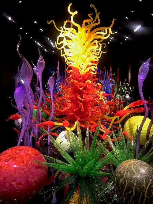 1 Day in Seattle Chihuly Garden