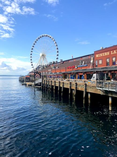 1 Day in Seattle Great Wheel