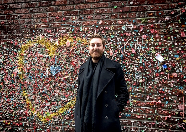 1 Day in Seattle Gum Wall