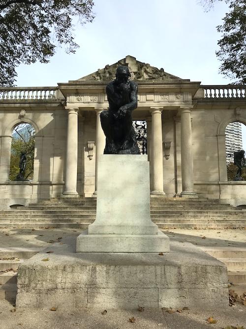2 Tage Philadelphia Rodin Museum