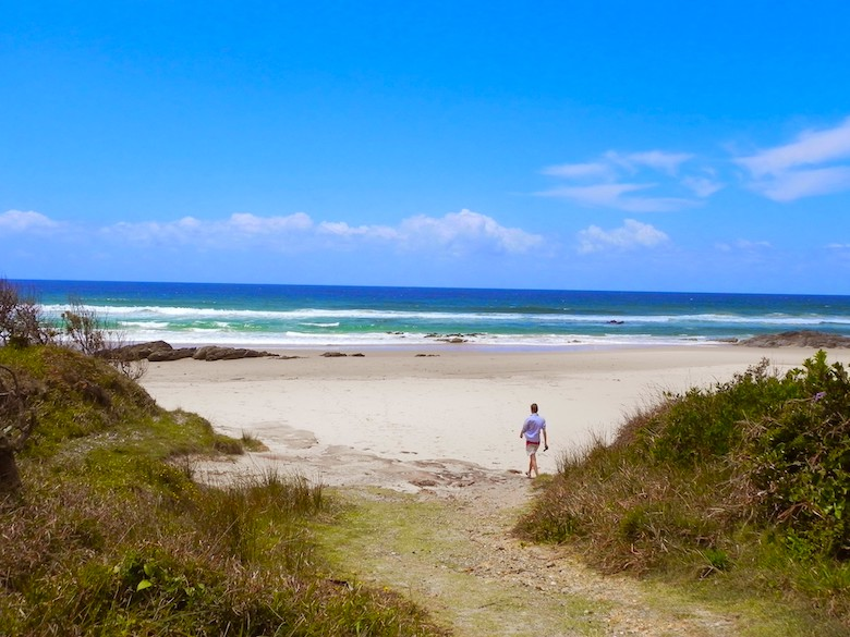 6 Wochen Australien Road Trip Byron Bay