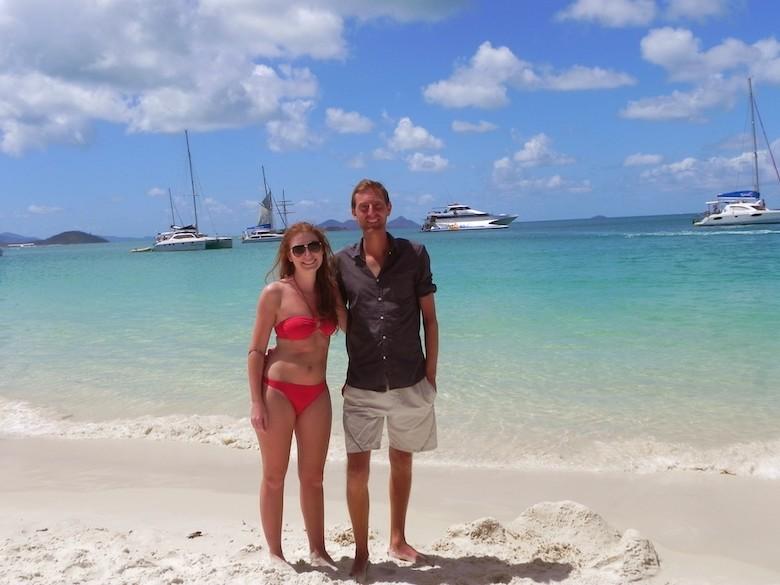 6 Wochen Australien Road Trip Whitehaven Beach